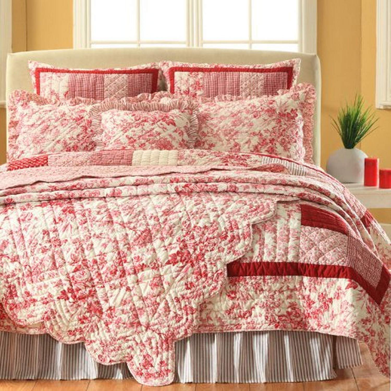 Be-you-tiful Home Throw Brittany Patchwork
