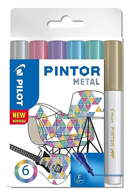 PILOT Pigmentmarker PINTOR medium silber