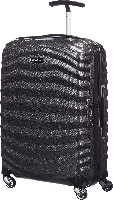 Samsonite Lite-Shock - Spinner S Equipaje de Mano, 55 cm, 36 L, Negro (Black)