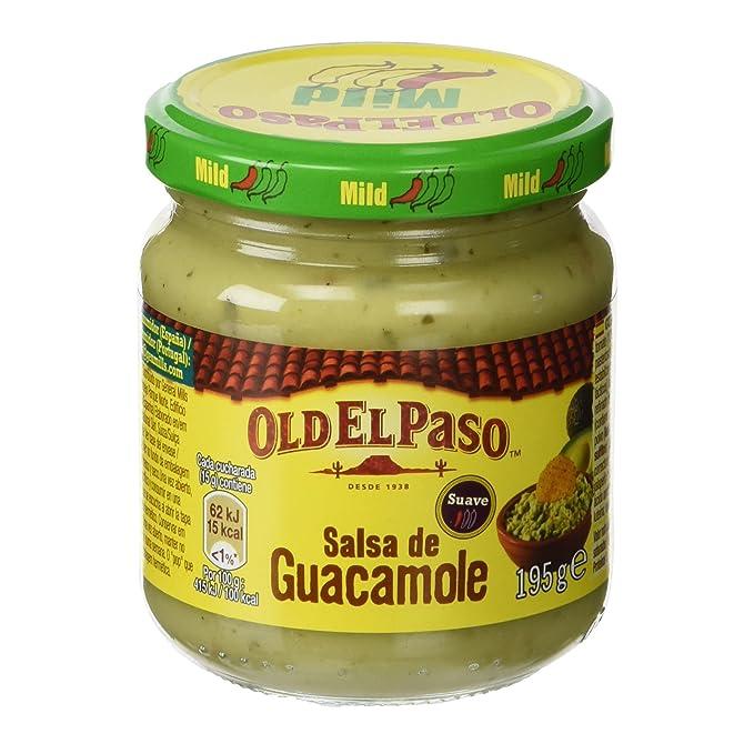Old el paso - Frasco salsa de guacamole, 195g