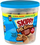 Skippy, P.B. Bites, Double Peanut Butter, 6oz Snack Pack (Pack of 6)
