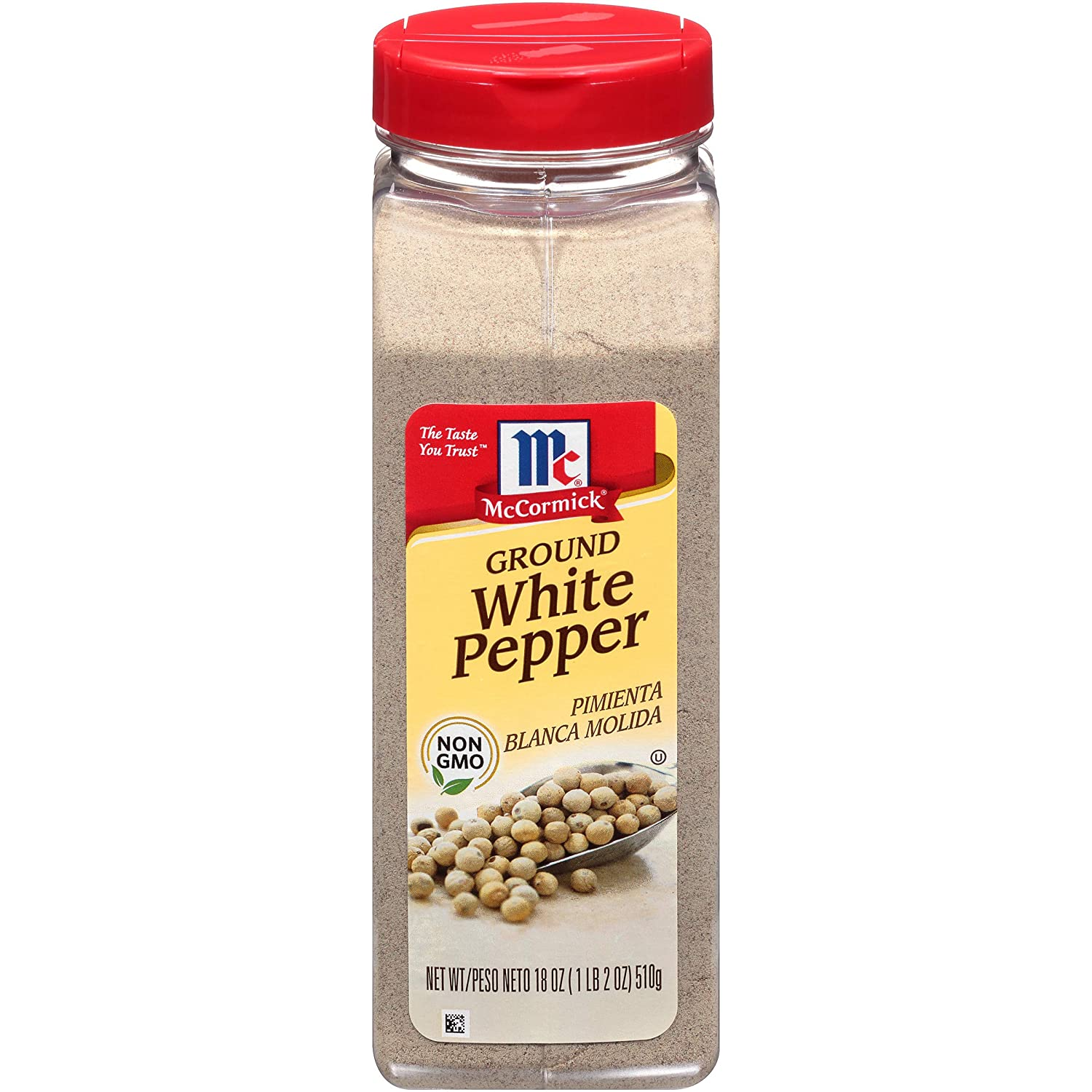 Amazon Com Mccormick Ground White Pepper 18 Oz Grocery Gourmet Food