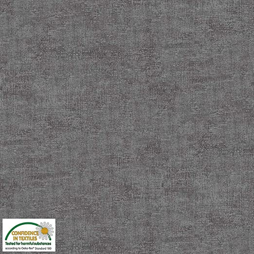 Stof Fabrics - Tela para mezclar tonos (0,5 m, 100% algodón) gris ...