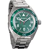Vostok Komandirskie Mens Automatic Russian Military Wristwatch WR 200m