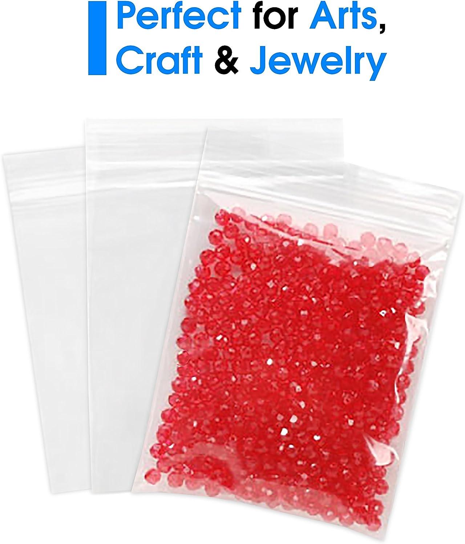 1000//Case Four Star Plastics 7x24 2 Mil Flat Poly Bags 2 Cases