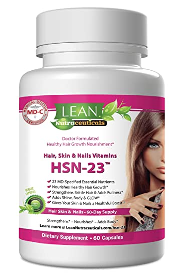 Amazon.com: Hair Skin & Nails Vitamins for Women & Men – Healthy ...
