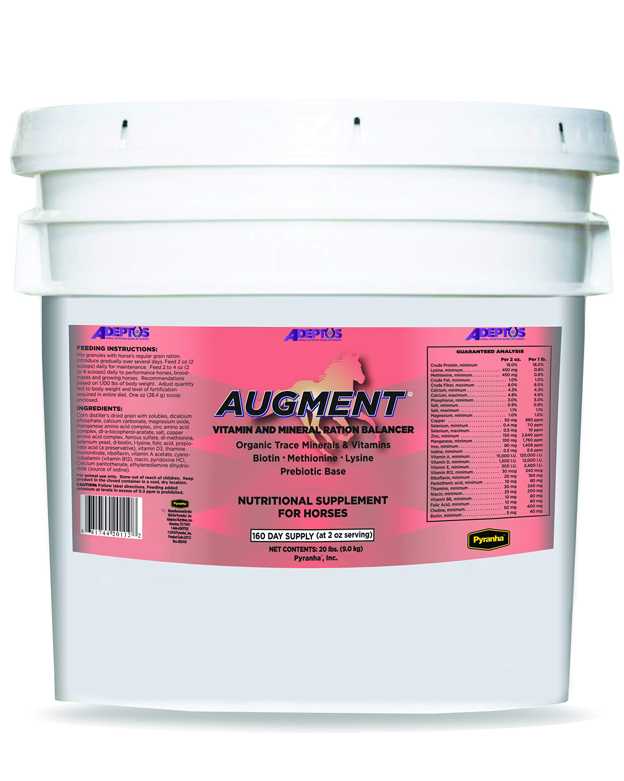 Adeptus Nutrition Augment Multi-Mineral and Vitamin EQ Joint Supplements, 20 lb./12 x 12 x 12 by Adeptus Nutrition