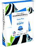 Hammermill Paper, Copy Plus, 20lb, 8.5 x 11, letter, 92 Bright, 500 Sheets/1 Ream (105007R), Made In The USA