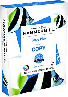 product image for Hammermill 105007RM Copy Plus Paper,20Lb,92 GE/102 ISO,8-1/2-Inch x11-Inch,White