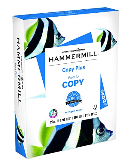 Amazon hammermill paper copy plus 20lb 85 x 11 letter 92 hammermill paper copy plus 20lb 85 x 11 letter 92 bright accmission Image collections