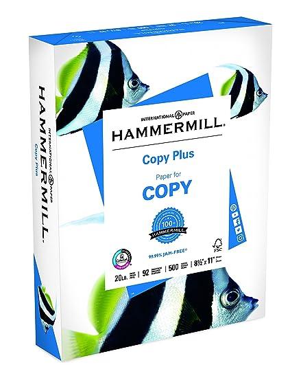 Amazon hammermill paper copy plus paper 85 x 11 paper hammermill paper copy plus paper 85 x 11 paper letter size 20lb wajeb Image collections