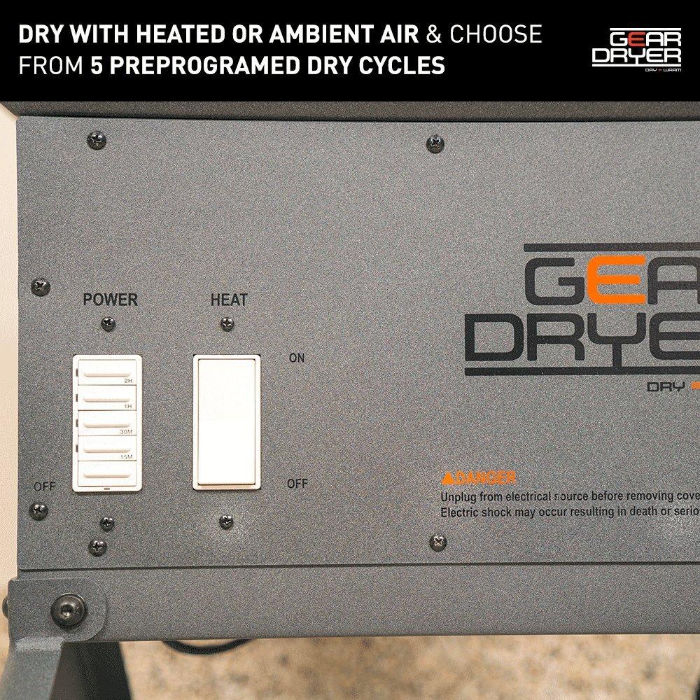 GearDryer Freestanding 12 Boot Glove Dryer | 6 Pair Boot, Shoe Glove Dryer | Dryer Warmer Ski Boots, Work Boots, Athletics, Helmets More by GEAR DRYER DRY = WARM (Image #3)