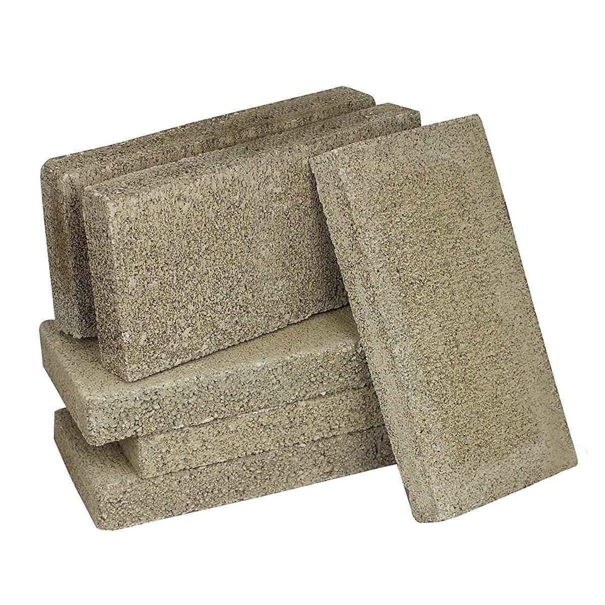 36 Pack US Stove FireBrick 4.5 x 9 x 1.25 Inch Wood Stove Ceramic Fire Bricks