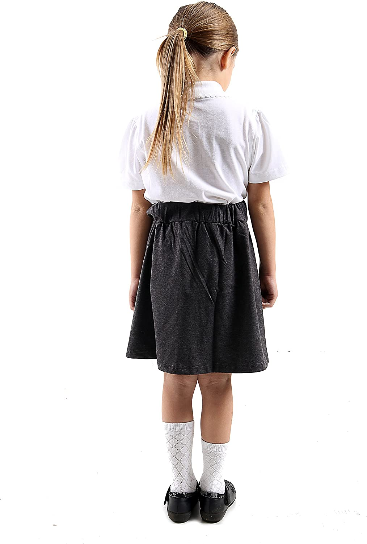 GW CLASSYOUTFIT Girls Skirts Kids School Fashion Summer Skater Party Tops 5 6 7 8 9 10 11 12 13