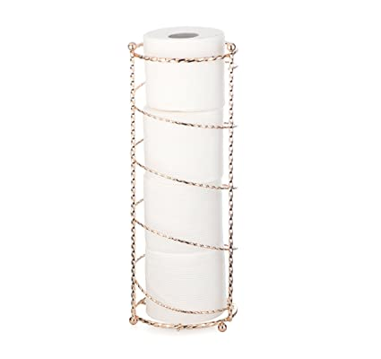 AMG And Enchante Accessories, Spiral Toilet Paper Storage Holder Reserve,  TP230 A CHG