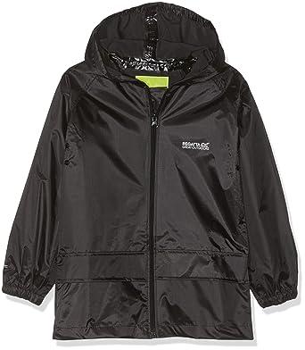 87bf9734c Regatta Stormbreak children's waterproof jacket.: Amazon.co.uk: Clothing