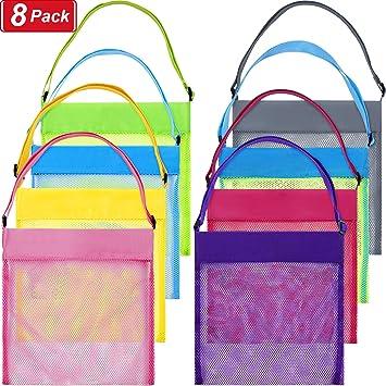 Amazon.com: Meekoo - 8 bolsas de malla de colores para la ...