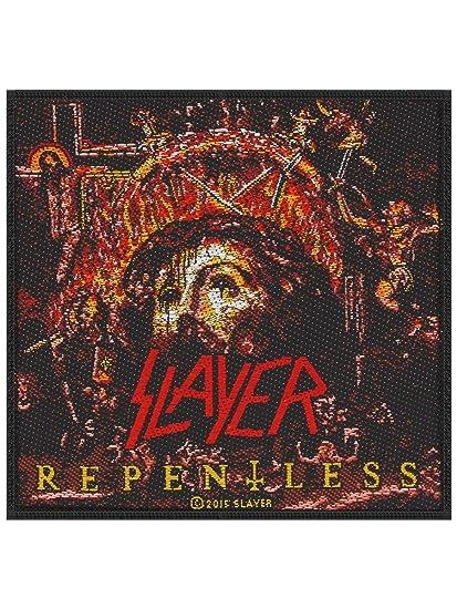 08126e48cbdee Amazon.com  Slayer Repentless Album Cover Patch Heavy Metal Fan DIY ...