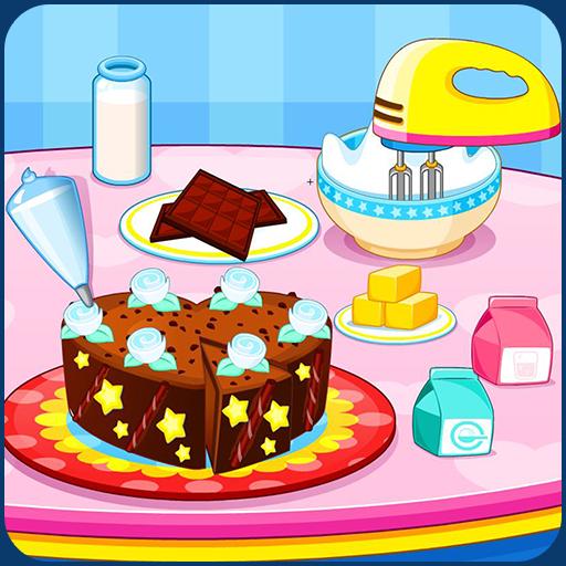 Cooking chocolate cake (Cooking Chocolate Cake)