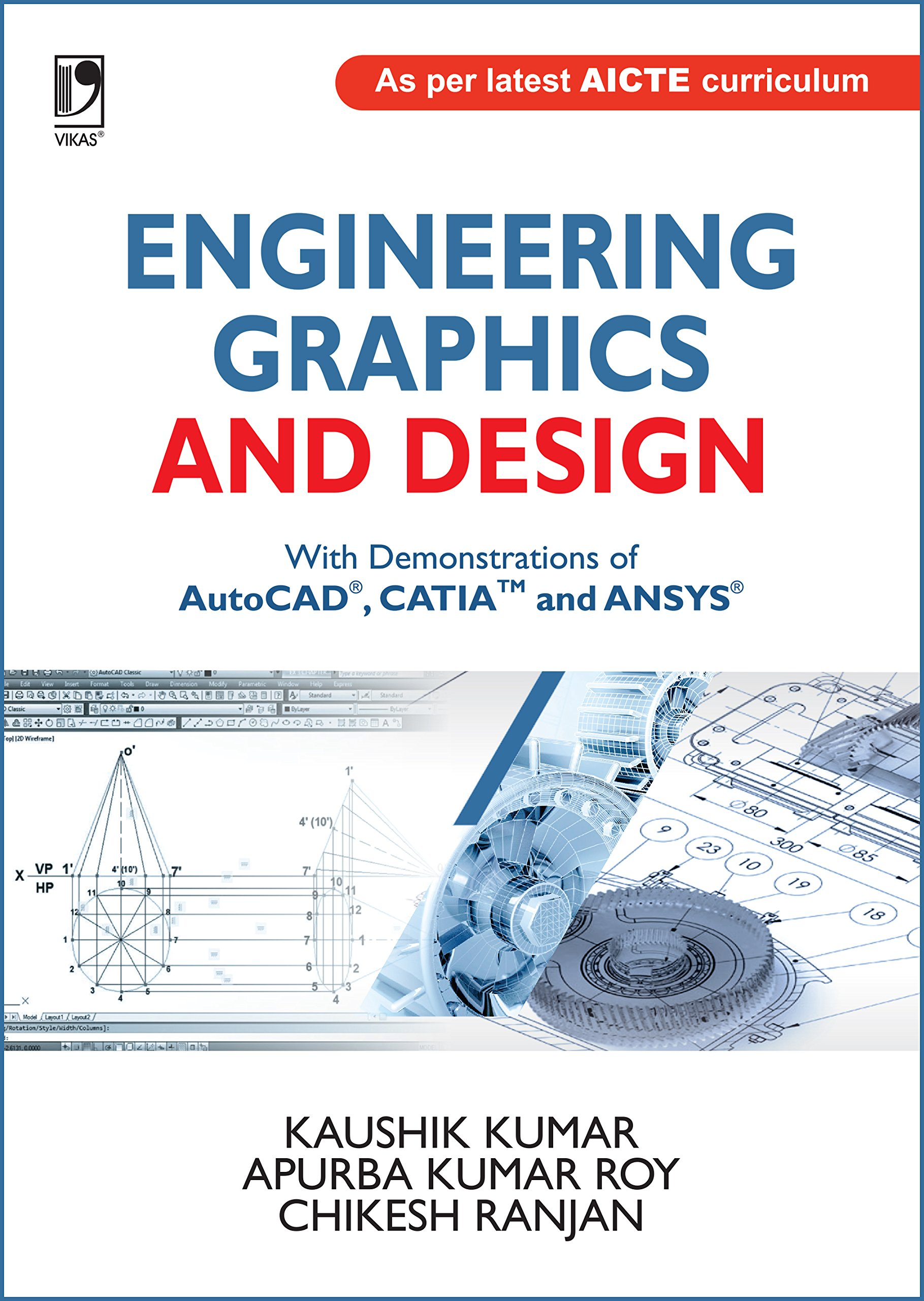 Buy Engineering Graphics and Design: With Demonstrations of AutoCAD