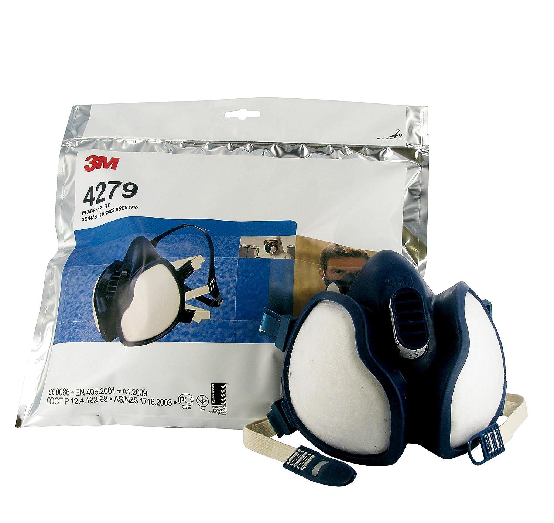 9ad5861e998f22 Demi-masque sans entretien à filtres intégrés FFABEK1P3R D 3MTM 4279,  Certifié EN sécurité  Amazon.fr  Commerce, Industrie   Science