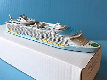 Amazoncom OASIS OF THE SEAS Royal Caribbean Cruise Ship Model In - Cruise ship toys for sale