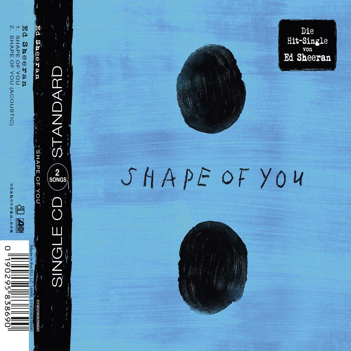 Shape Of You 2 Track Sheeran Ed Amazon De Musik