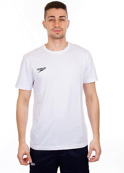 Speedo 8-104330003 Camisetas, Unisex Adulto, Blanco, 2XL