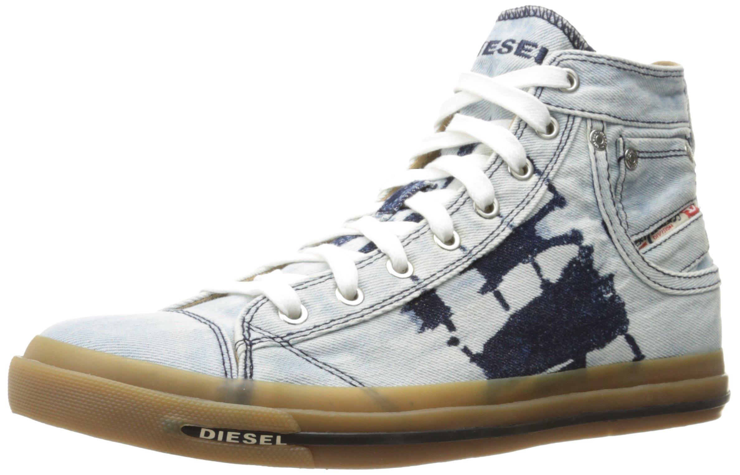 Diesel Men's Magnete Exposure I Fashion Sneaker, Indigo, 8 M US