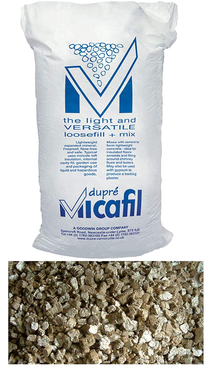 Dupre 100L Bag For Insulation Micafil Vermiculite Granules