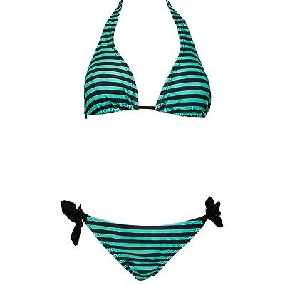 AvaMia Traje de Bano Dos Piezas Bikini Set de Impresion Swimsuit mujer: Ropa y accesorios