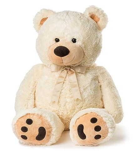 090f5cbf756 Amazon.com  JOON Huge Teddy Bear - Cream  Toys   Games