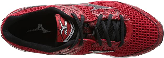 Mizuno Wave Precision 13 - Zapatillas de Running para Hombre, Color Chinese Red/Anthracite/Silver, Talla 42: Amazon.es: Zapatos y complementos