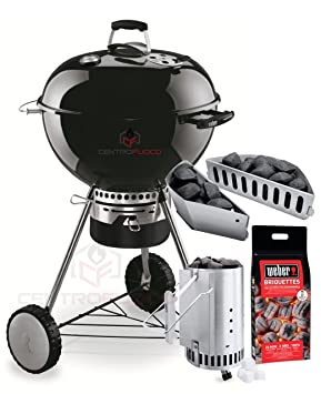 Barbecue Weber Master Touch Gbs Noir Kit Cheminee Amazon Fr