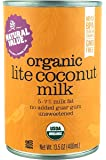 Natural Value Organic Lite Coconut Milk, 13.5 Ounce Cans (Pack of 12)