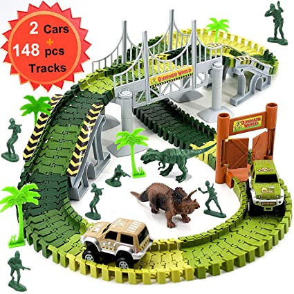Amazon Com Wangday Dinosaur Toys For 3 4 5 6 7 Year Old Boys