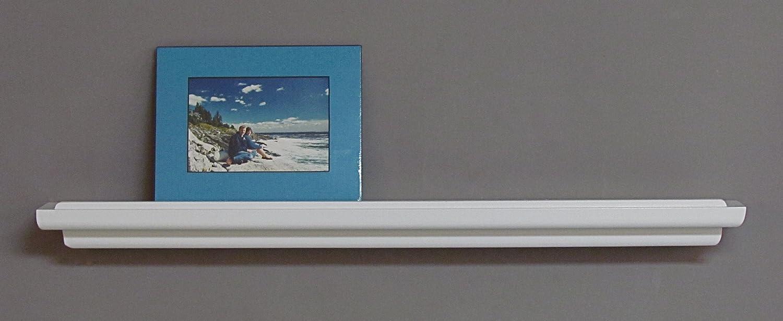 White Floating Shelf Amazoncom Floating Ledge 60w X 2d Chocolate Espresso Made