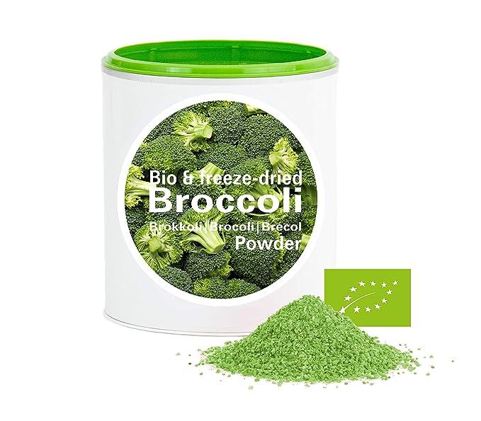 Brécol en Polvo - Liofilizado|biológico|vegano|crudo|pura fruta|no