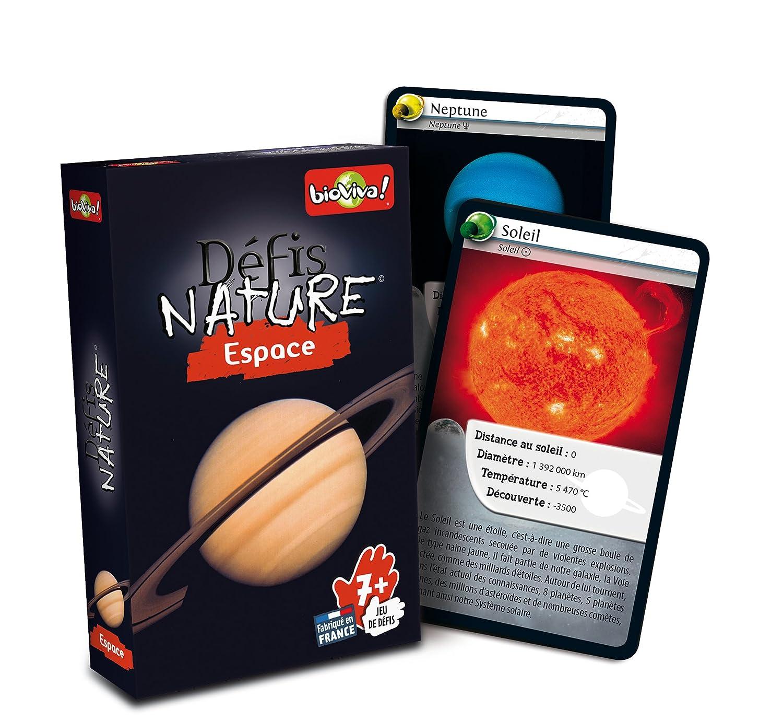 jeu de cartes défis nature - thème espace