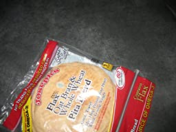 Joseph's Flax, Oat Bran and Whole Wheat Flour Pita Bread 6