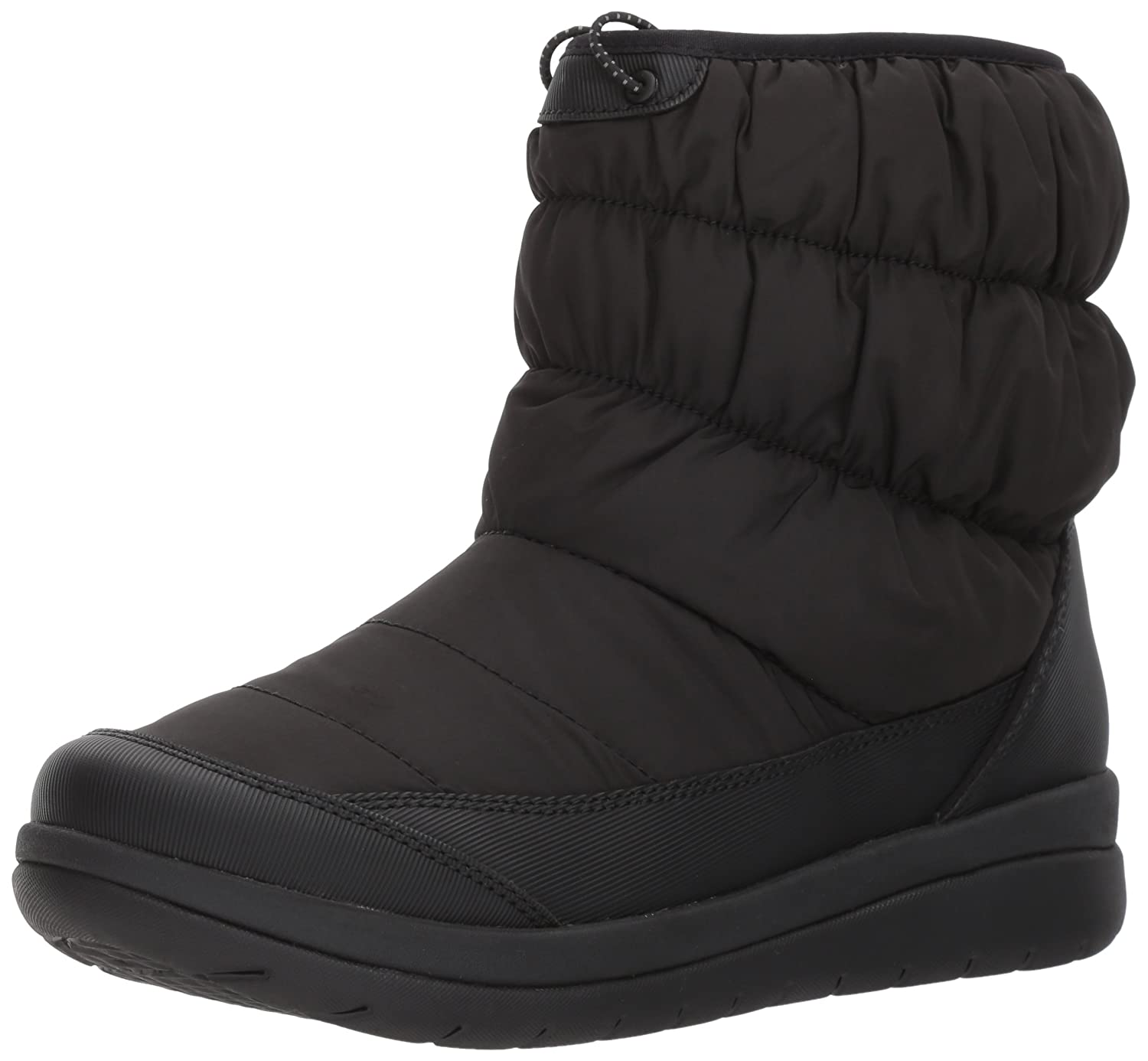 CLARKS Women's Cabrini Bay Snow Boot B01N4J5AXY 12 W US|Black