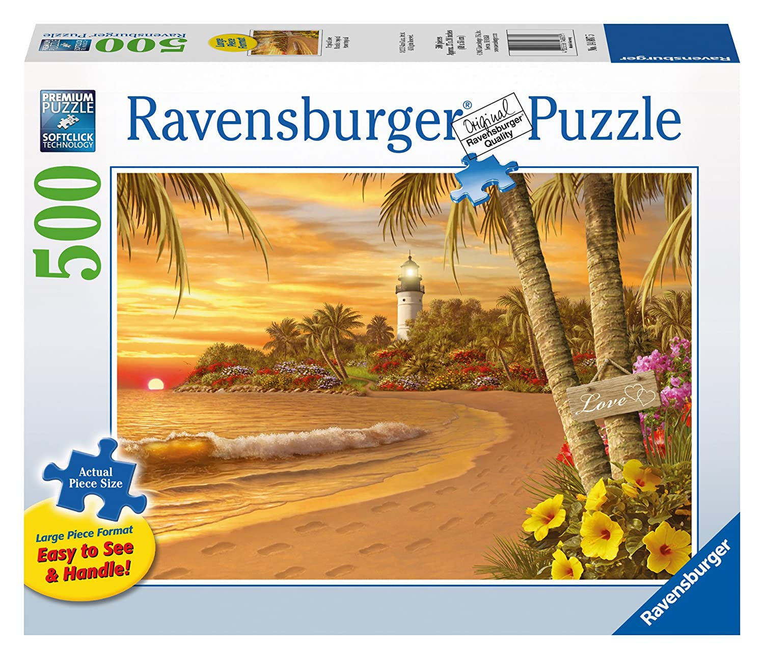 Ravensburger Tropical Love Large Format Puzzle (500-Piece) by Ravensburger