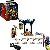 71733 LEGO® NINJAGO® Conjunto de Combate Épico – Cole vs Guerreiro Fantasma; Kit de Construção de Brinquedo de Combate Ninja