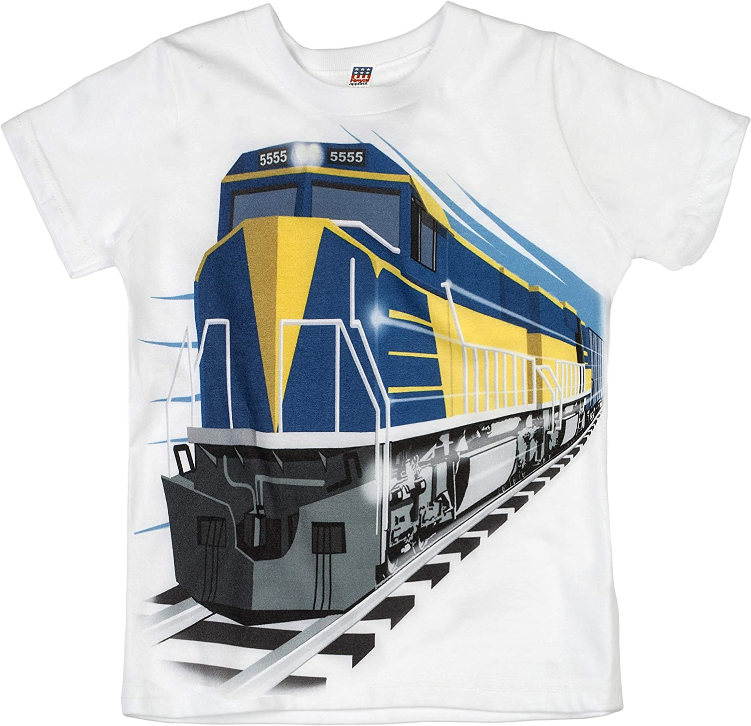 Free P/&P Baby boys to shirt with car design print Made from 100/% cotton
