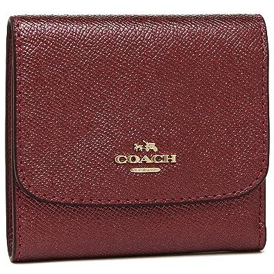 98fb50a55f33 [コーチ] 三つ折り財布 アウトレット レディース COACH F21069 IME42 レッド [並行輸入品