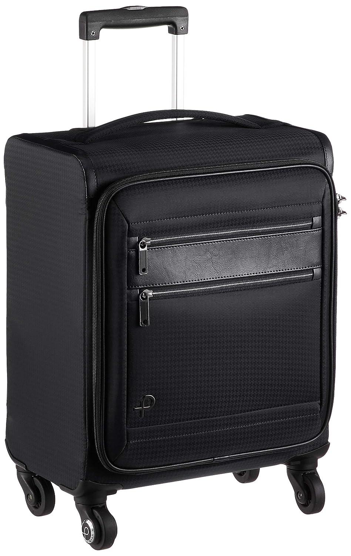 [プロテカ] スーツケース 日本製 フィーナST キャスターストッパー TSAダイヤルファスナーロック付 可(国際線、国内線100席以上、3辺合計115cm以内) 24L 40 cm 1.9kg B07LC2KT4X ブラック