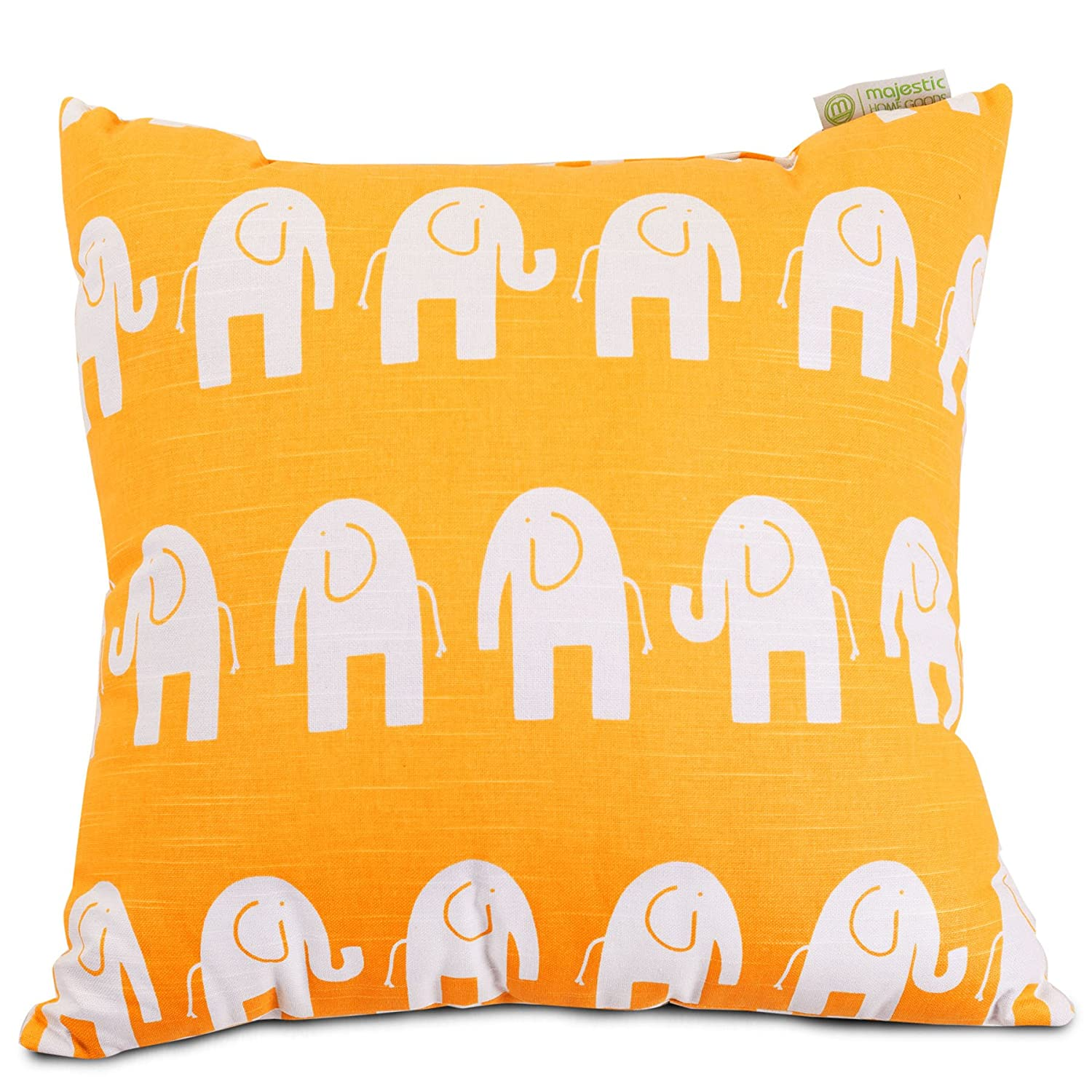 Yellow Majestic Home Goods Ellie Pillow X-Large