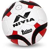 Nivia Latino Football, Size 5 (Blue/White)