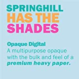 Springhill Colored Paper, Heavy Paper, Blue
