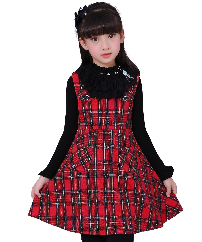 children wool coats for kids girls wool winter 2 piece set vest dress coats clothes tops casaco feminino manteau fille hiver